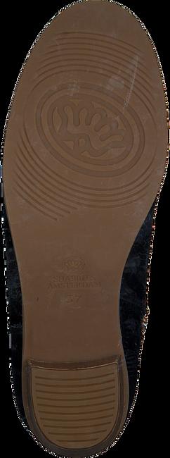 Zwarte SHABBIES Enkellaarsjes 182020268  - large