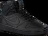 Zwarte NIKE Sneakers COURT BOROUGH MID WINTER KIDS  - small
