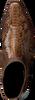 Bruine SENDRA Enkellaarsjes 15842P - small