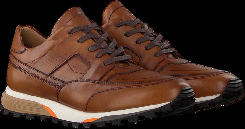 Cognac MAZZELTOV Lage sneakers SANTONI  - larger