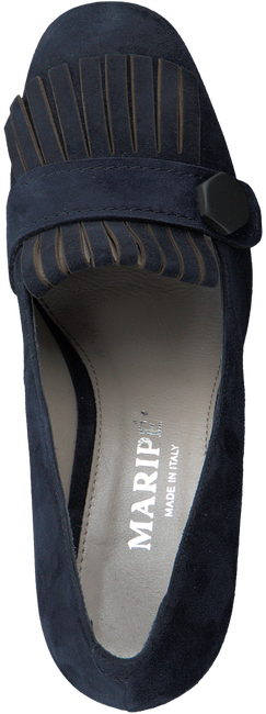 Blauwe MARIPE Pumps 23010  - large