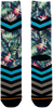 Blauwe XPOOOS Sokken HULA HULA  - small