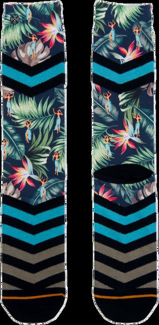 Blauwe XPOOOS Sokken HULA HULA  - large
