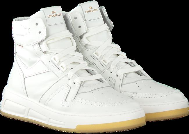 Witte COPENHAGEN FOOTWEAR Hoge sneaker CPH406  - large