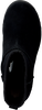 Zwarte UGG Vachtlaarzen W CLASSIC FEMME MINI  - small