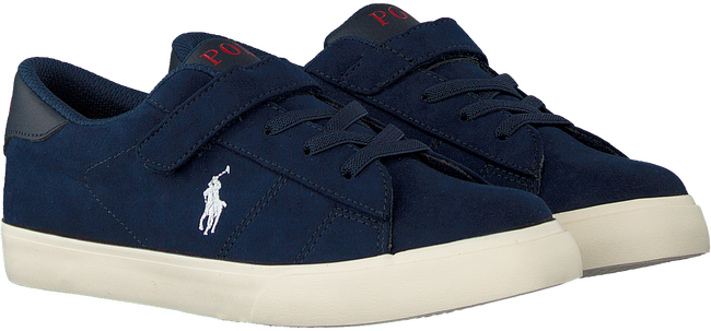 Blauwe POLO RALPH LAUREN Lage sneakers THERON PS  - large