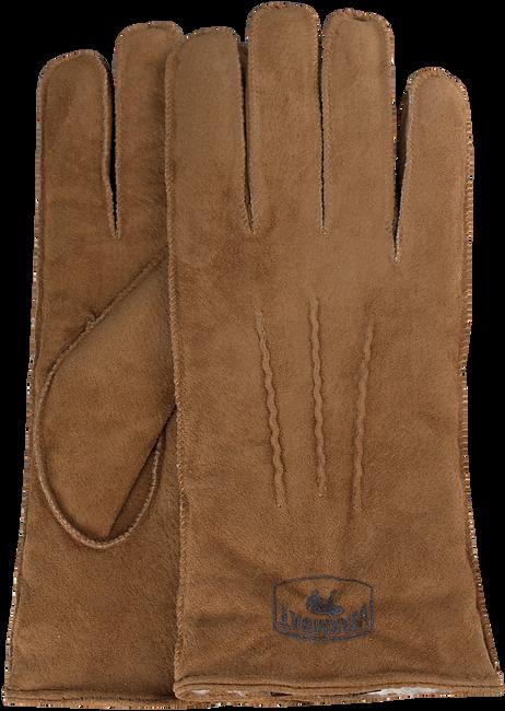 Cognac WARMBAT Handschoenen GLOVES WOMEN SUEDE - large