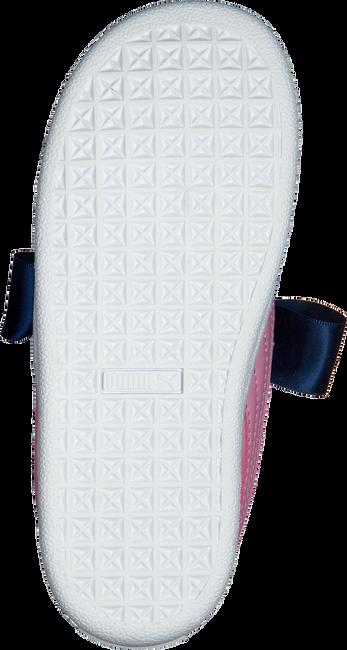 Roze PUMA Sneakers BASKET HEART PATENT KIDS  - large