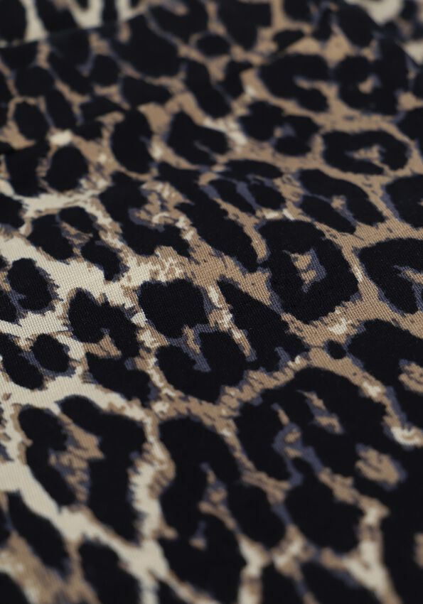Leopard ALIX THE LABEL Flared broek ANIMAL FLAIRED PANT - larger