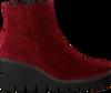 Rode GABOR Enkellaarsjes 780.1  - small