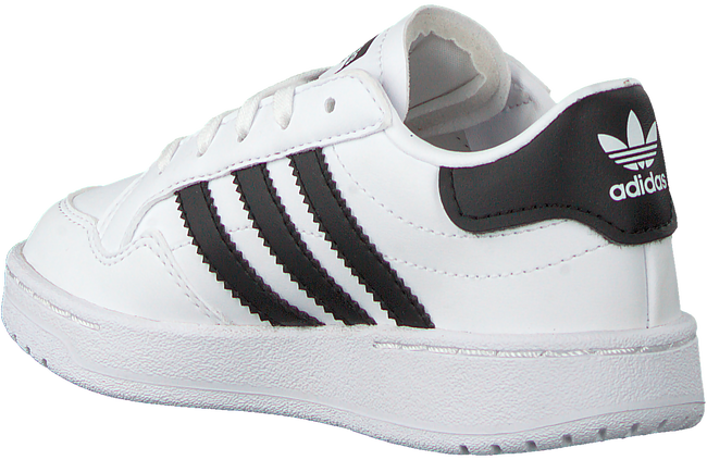 Witte ADIDAS Lage sneakers TEAM COURT C  - large