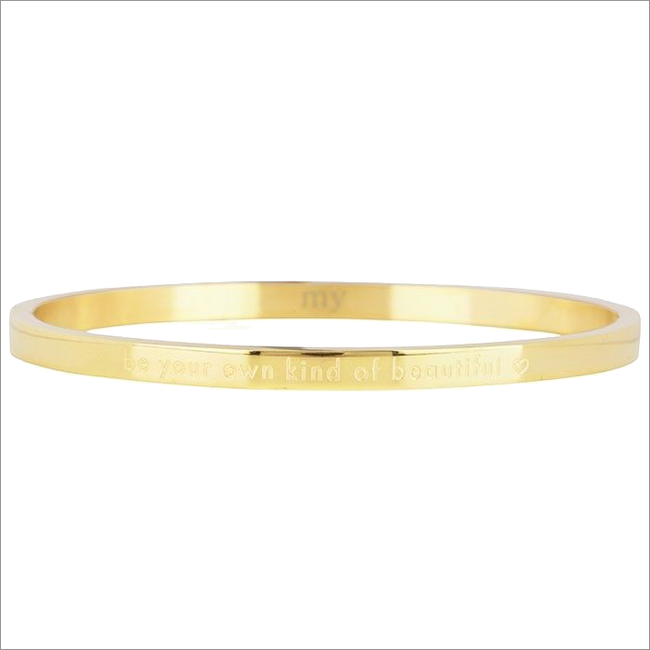 Gouden MY JEWELLERY Armband BE YOUR OWN KIND OF BEAUTIFUL - large