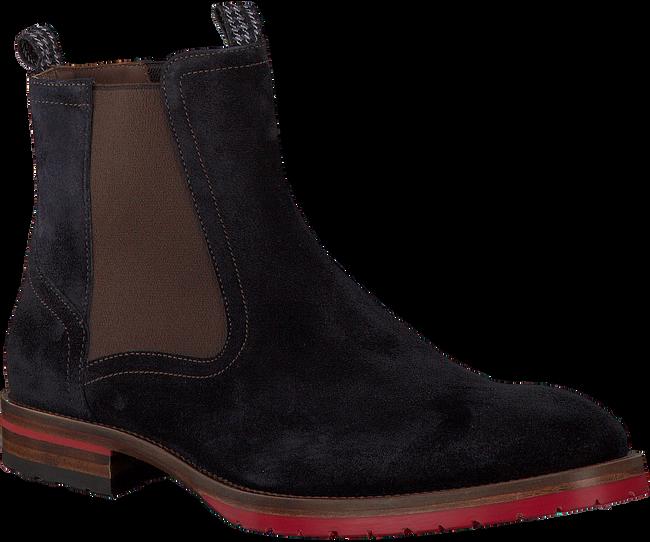 Blauwe FLORIS VAN BOMMEL Chelsea boots 10976  - large