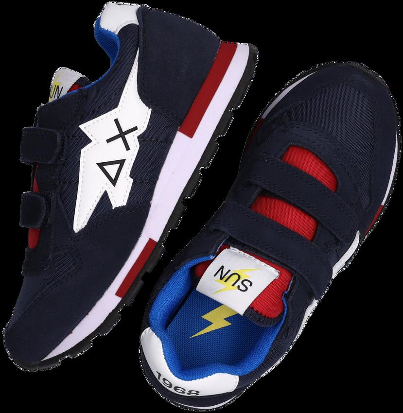 Blauwe SUN68 Lage sneakers BOYS NIKI NYLON SOLID  - larger
