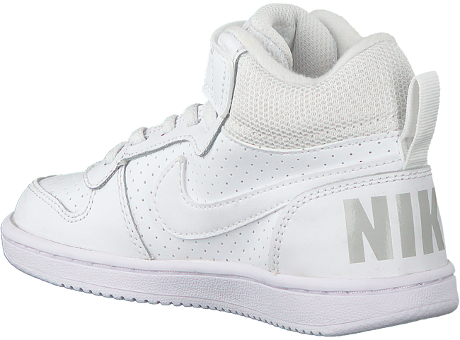 Witte NIKE Sneakers COURT BOROUGH MID WINTER KIDS  - large