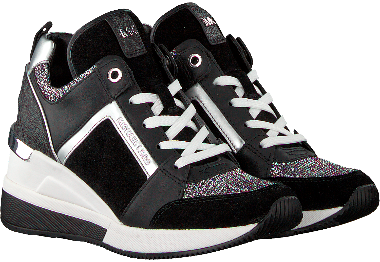 5041a61fe87 Zwarte MICHAEL KORS Sneakers GEORGIE TRAINER - Omoda.nl
