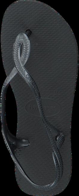 Zwarte HAVAIANAS Slippers LUNA  - large