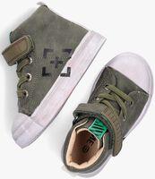 Groene SHOESME Hoge sneaker SH21W024  - medium
