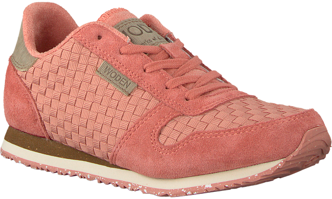 Roze WODEN WONDER Sneakers YDUN WEAVED TEEN - large