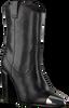 Zwarte BRONX Enkellaarzen 34107 - small