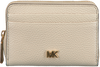 Beige MICHAEL KORS Portemonnee ZA COIN CARD CASE  - small