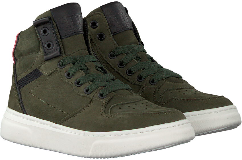 Groene HIP Hoge sneaker H1969  - larger