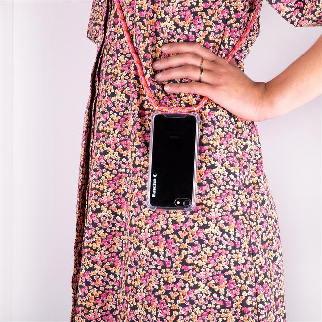 Roze KASCHA-C Telefoonkoord PHONECORD IPHONE XS MAX  - large