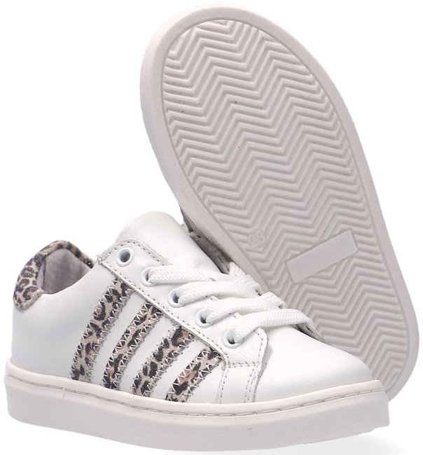 Witte TON & TON Lage sneakers E1325-212  - large