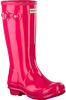 Roze HUNTER Regenlaarzen ORIGINAL KIDS GLOSS - small