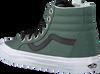 Groene VANS Sneakers SK8 HI REISSUE WMN - small