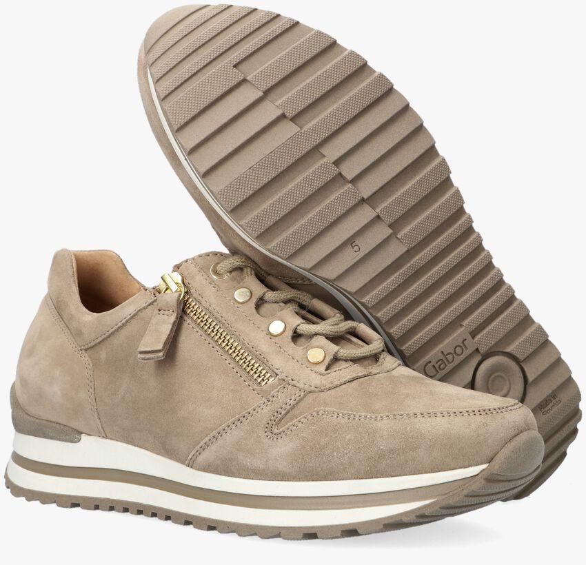 Beige GABOR Lage sneakers 527  - larger