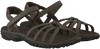 Bruine TEVA Sandalen KAYENTA SUEDE 3434  - small
