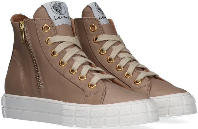 Taupe LEMARÉ Hoge sneaker 2546 - large