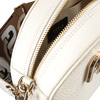 Witte FURLA Schoudertas SLEEK MINI CROSSBODY ROUND - small