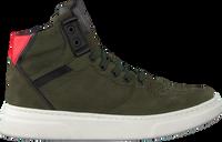 Groene HIP Hoge sneaker H1969  - medium