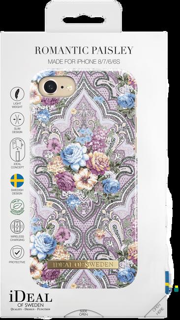 Roze IDEAL OF SWEDEN Telefoonhoesje FASHION CASE IPHONE 8/7/6/6S - large