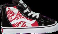 Zwarte VANS Sneakers TD SK8-HI ZIP  - medium