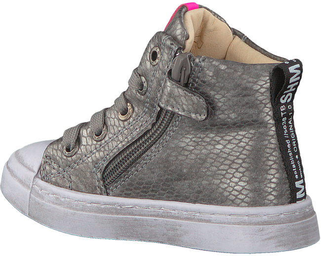 Zilveren SHOESME Hoge sneaker SH20W020  - large