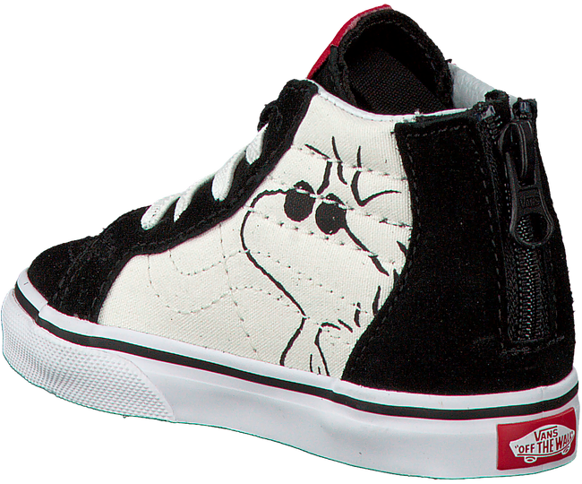 Zwarte VANS Sneakers SK8-HI ZIP  - large