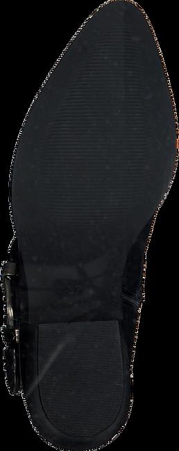 Zwarte PS POELMAN Enkellaarsjes 5753 - large