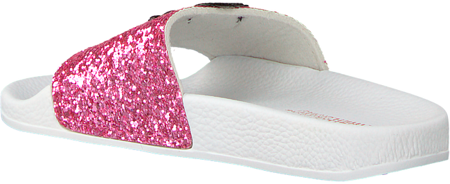Roze THE WHITE BRAND Slippers GLITTER KIDS - large