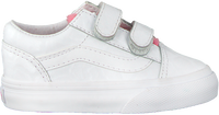 Witte VANS Sneakers TD OLD SKOOL V WHITE GIRA  - medium