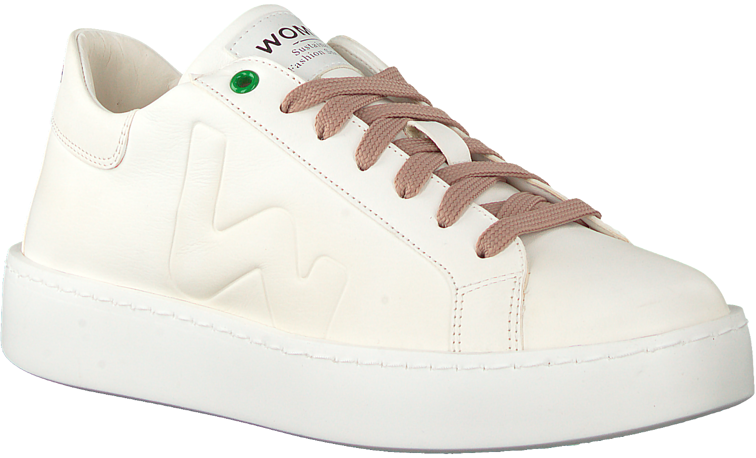Witte WOMSH Lage sneakers CONCEPT