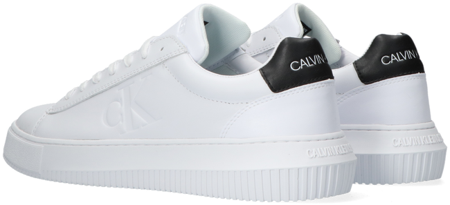 Witte CALVIN KLEIN Lage sneakers CHUNKY SOLE - large