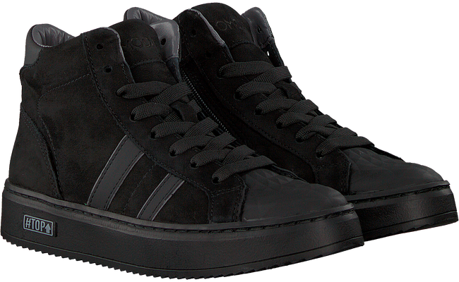 Zwarte OMODA Hoge sneaker O1543  - large