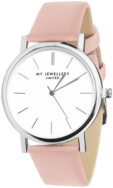 Roze MY JEWELLERY Horloge MY JEWELLERY LIMITED WATCH - large