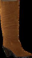 Cognac TORAL Lange laarzen 12033  - medium