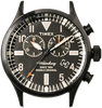 Zwarte TIMEX Horloge WATERBURY CHRONO - small