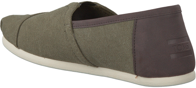 Groene TOMS Instappers CLASSIC HEREN  - large