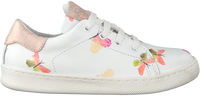 Witte CLIC! Lage sneakers 9187  - medium